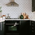 Beautifull Totally Modern Black And White Kitchen 31