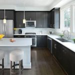 Beautifull Totally Modern Black And White Kitchen 38
