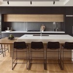 Beautifull Totally Modern Black And White Kitchen 47