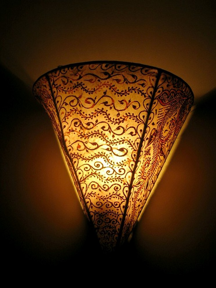 Breathtakingly Beautiful Moroccan Henna Lamps 32