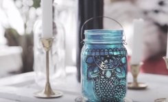 Breathtakingly Beautiful Moroccan Henna Lamps 50