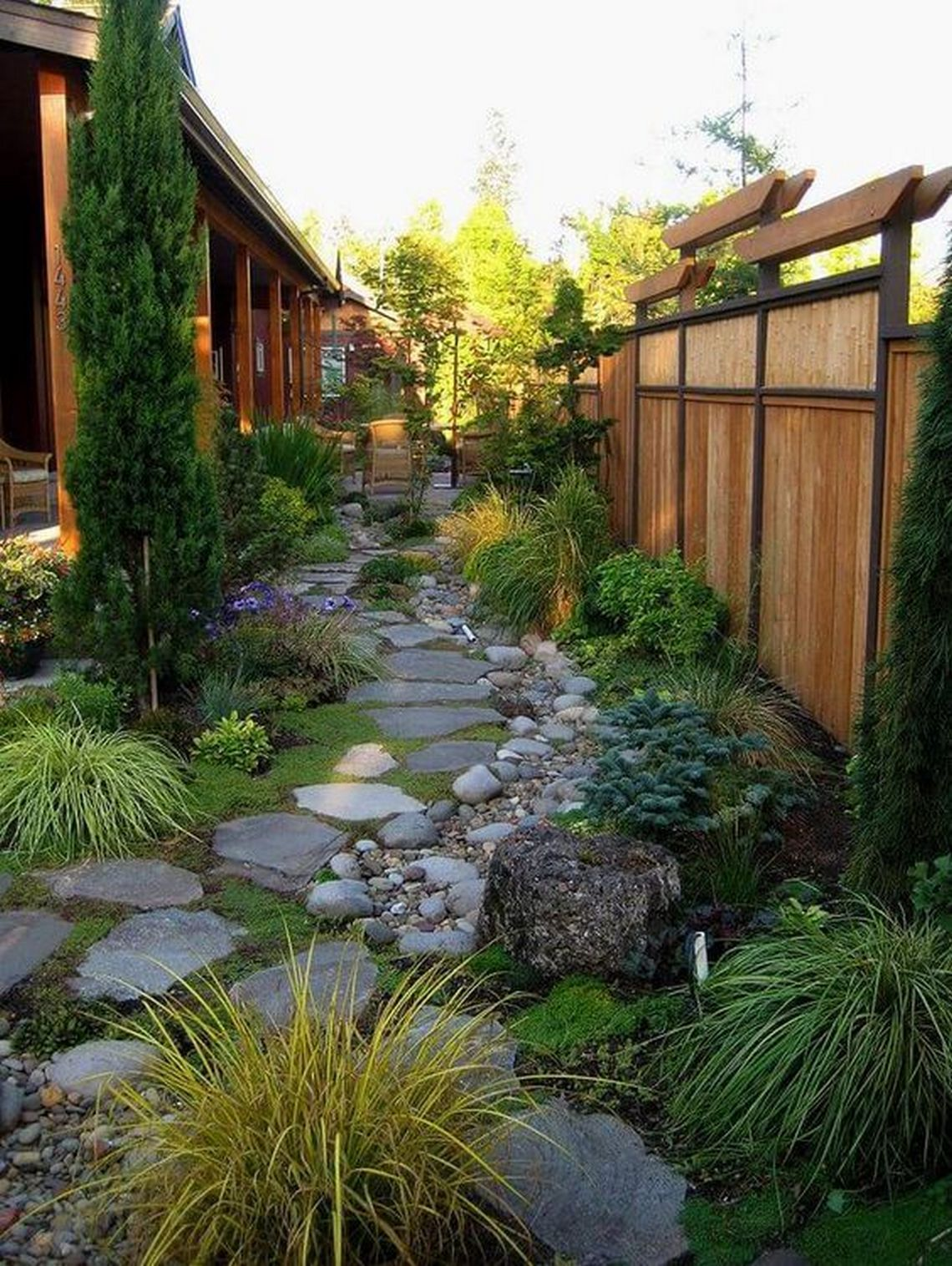91 Small Backyard Landscape Decoration Models Are Simple And Look Creative 6