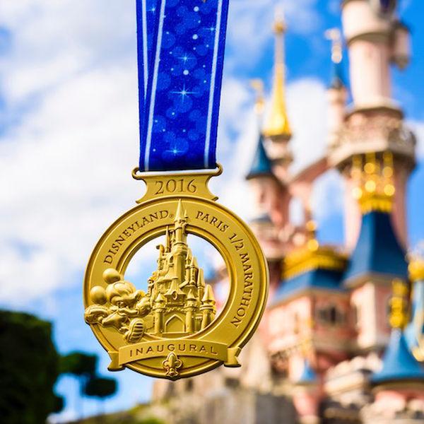 RunDisney Disneyland Paris Half Marathon medaille