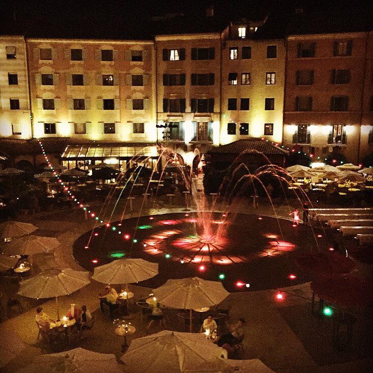 Hotel Colosseo Europa-Park uitzicht kamer op binnenplaats