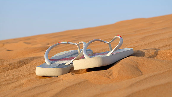 Slippers - alleen reizen