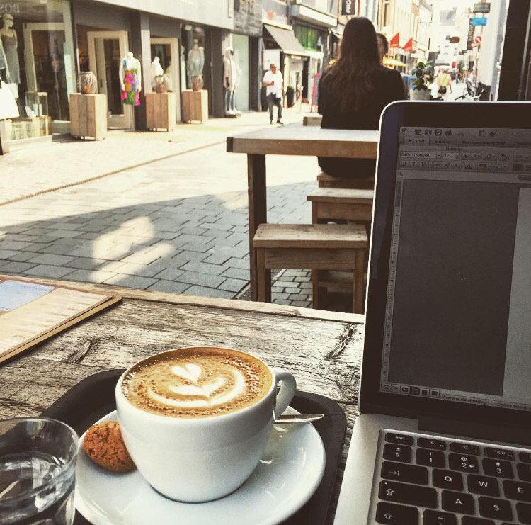Koffie bij Teun Breda