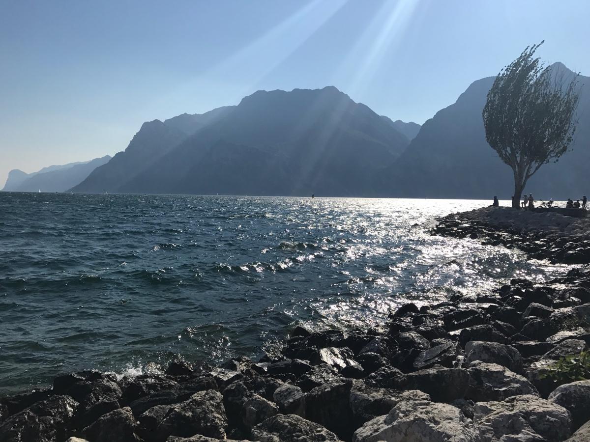 Gardameer, Riva del Garda, Italie