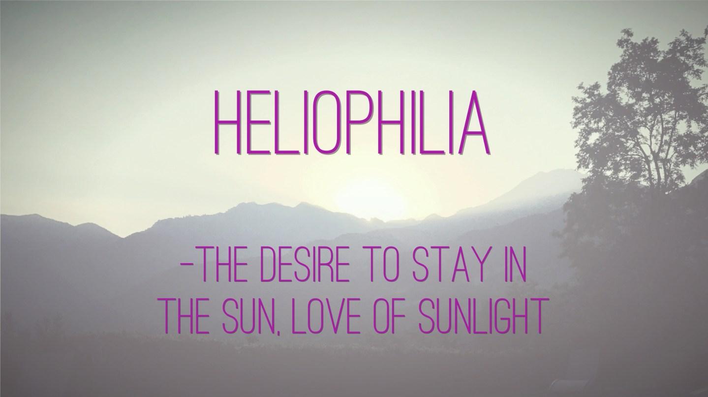 """Weer een week… #19: """"Heliophilia"""""""