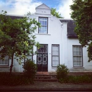 Stellenbosch, Zuid-Afrika, Nederlandse huizen