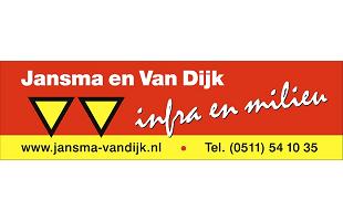 Vrolijke Strijders Sponsor Jansma en Van Dijk Infra en Milieu