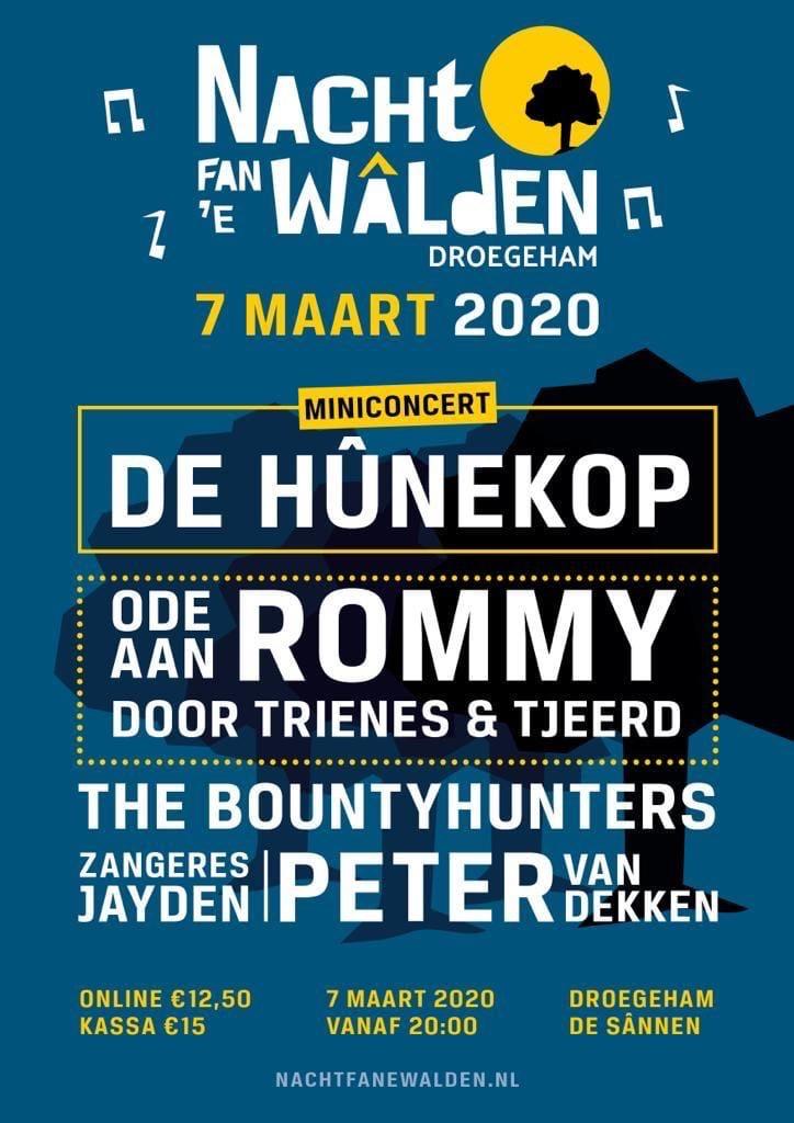 Poster Nacht Fan e Walden 7 maart 2020