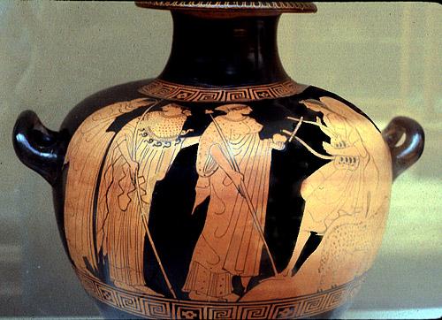 Cerámica griega, s.V. Museo del Louvre