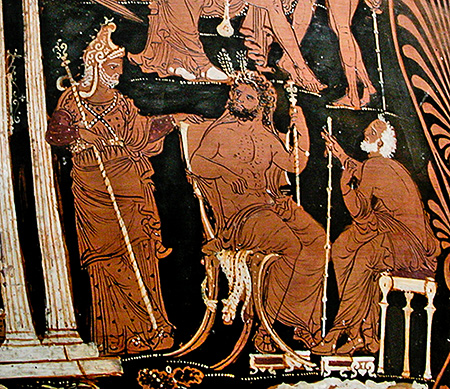 Image result for rhadamanthus ancient greek