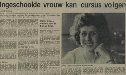 In Memoriam: Krijnie Verlaan