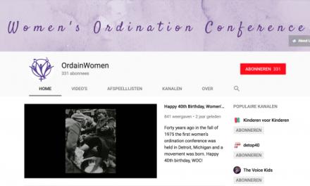 OrdainWomen: nieuw kanaal op YouTube
