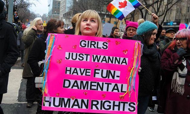 Women's March voor Witrussische vrouwen