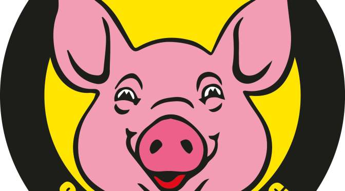 PRESS MESSAGE – Ramadan does not belong here: Cities Against Islamization is starting a '100% haram' sticker campaign with a pig as a symbol
