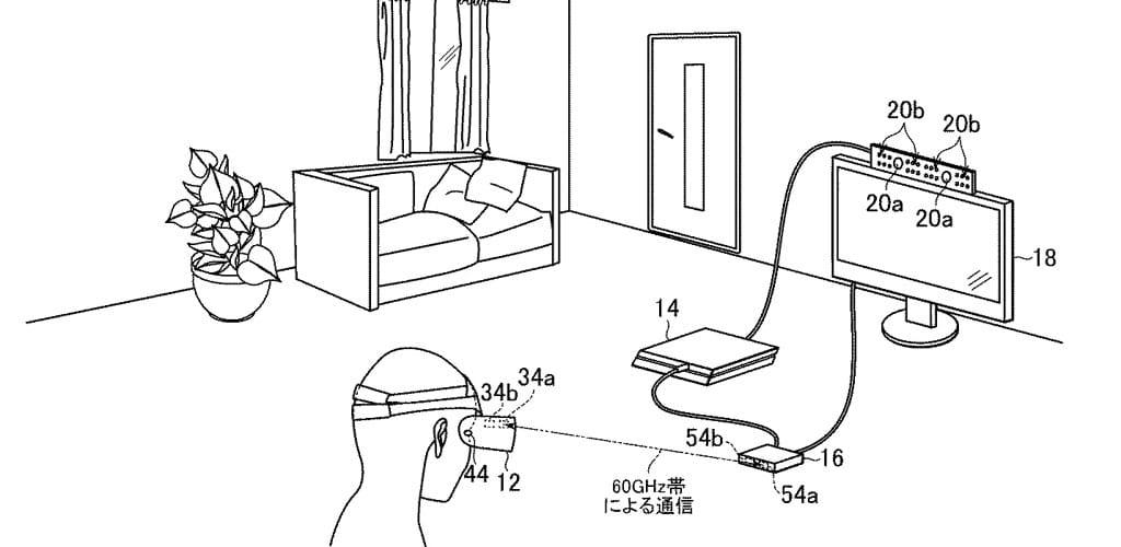 Patent für eine Kabellose PlayStation VR veröffentlicht
