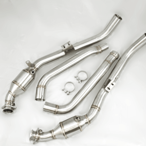 Downpipes and midpipes exhaust upgrade for the M157 and M278 AMG.