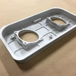 Throttle body adapter plate for the 63 M156 AMG