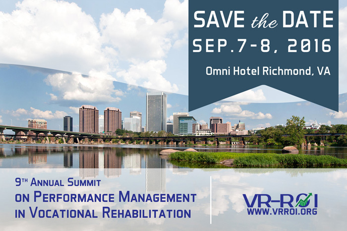 Picture of Save the Date for the 2016 Annual Summit on Performanc Management in VR