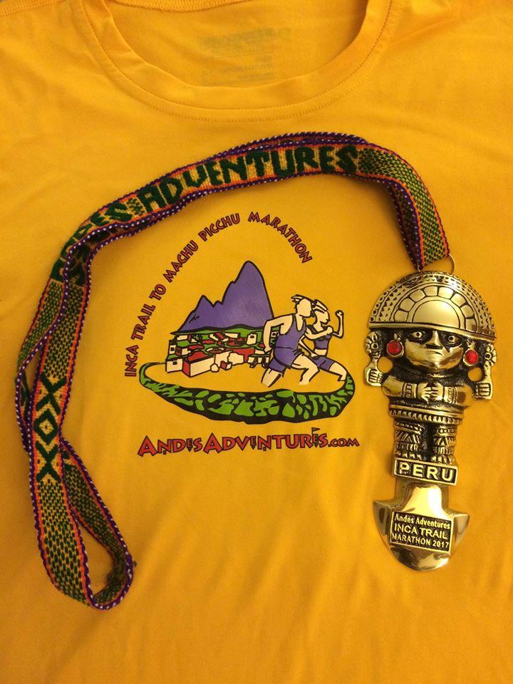 วิ่งรอบโลก : งานแข่งวิ่ง Inca Trail Marathon