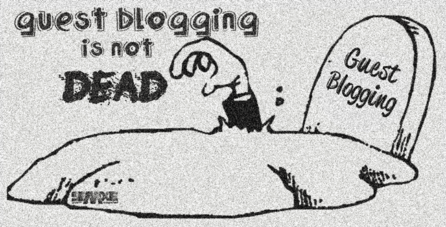 Guest blogging is no longer important for search engine