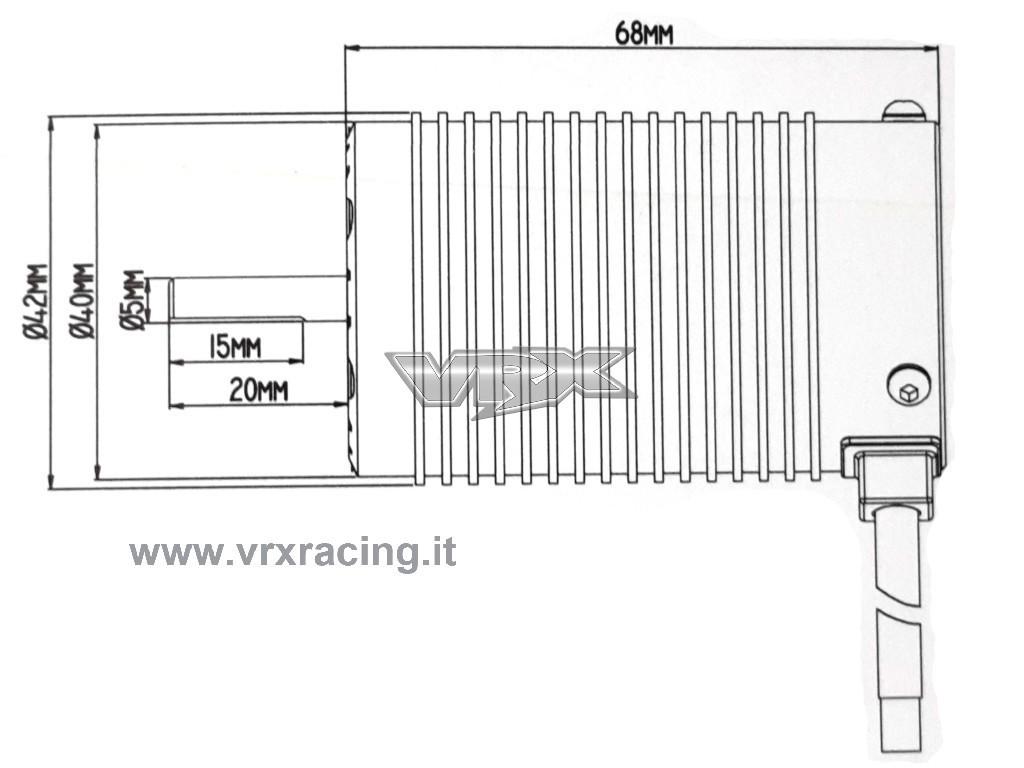 Combo Rocket 1 8 Motore Kv Sensorless Regolatore 120a Brushless Sensorato Waterproof