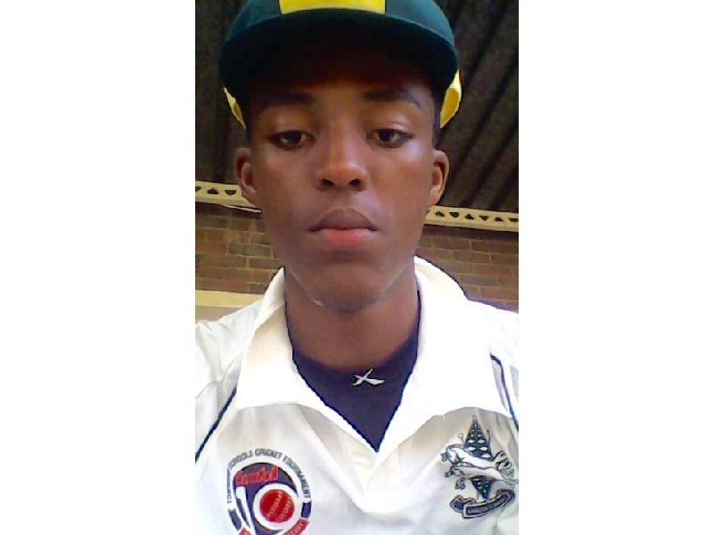 Sbongakonke Thabede Cricket Player Vryheid High School