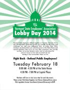 VSEA Lobby Day 2014! Flyer