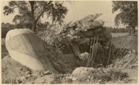 V roce 1939 vyhodili Němci bunkry u Dušník do vzduchu