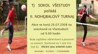 pozvánka TJ Sokol Všestudy na nohejbalový turnaj