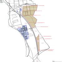 hlavní výkres návrhu změny č. 1 územního plánu obce Všestudy