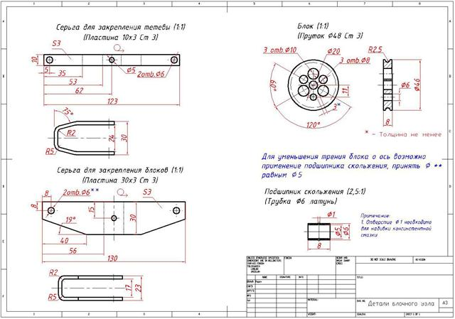 Ritning av detaljerna i Crossbow Globe Node
