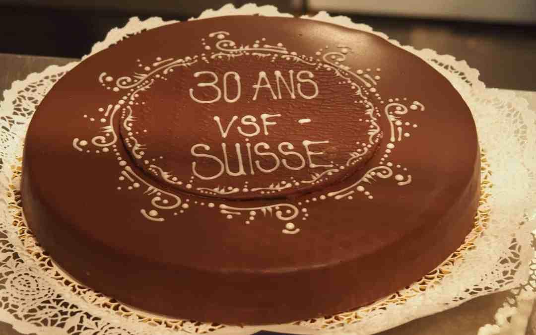 Le 30ème anniversaire de VSF-Suisse