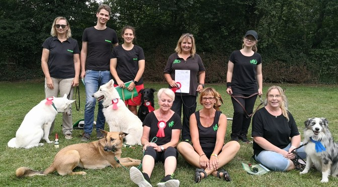 Rally Obedience Turnier VSG hanau 2019
