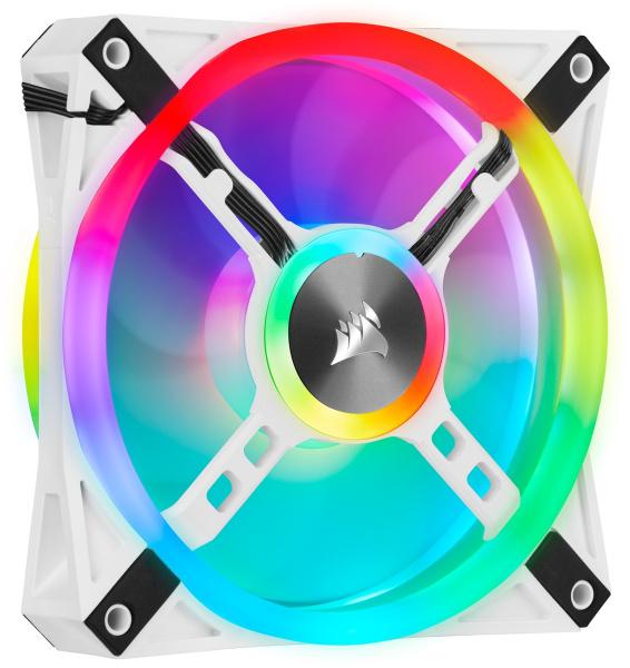 Kit de tres ventiladores Lighting Node CORE Corsair iCUE QL120 RGB - Versus Gamers