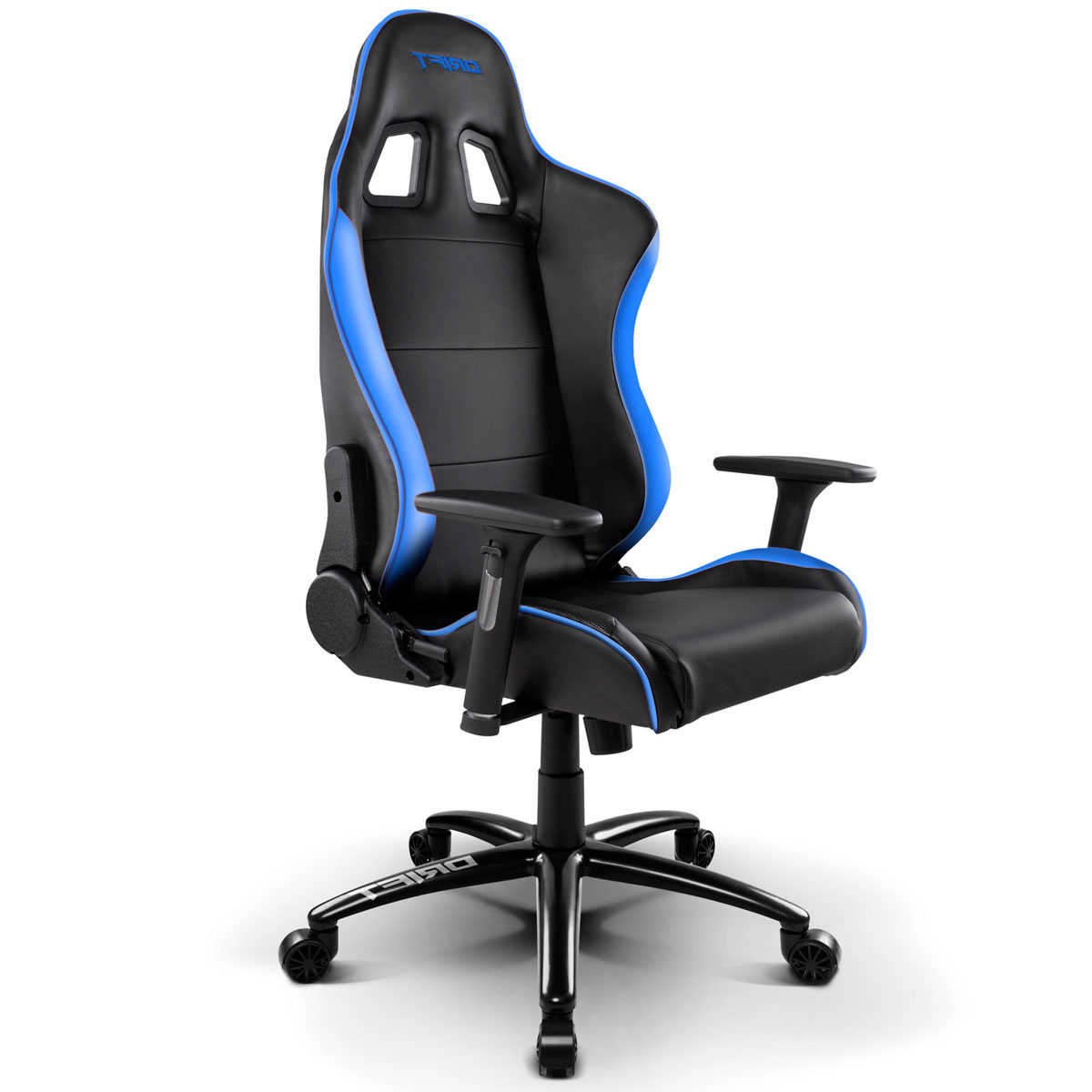 gaming chair pc ergonomic repair silla polipiel drift dr200 negro y azul - versus gamers