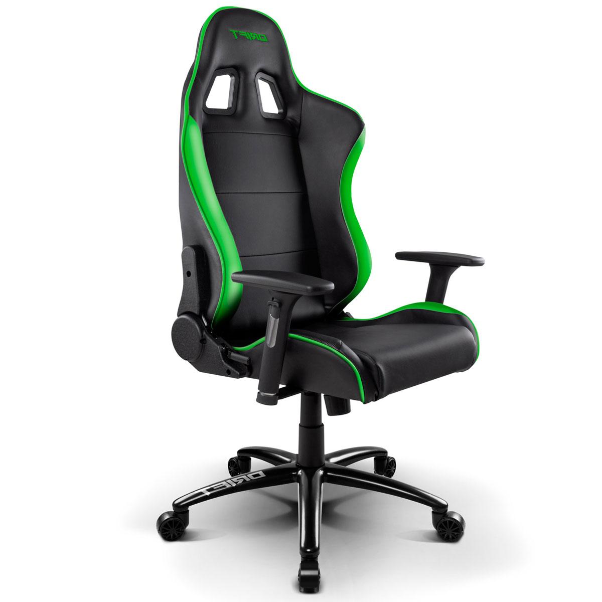 Silla Gaming Polipiel Drift DR200 Negro y Verde  Versus