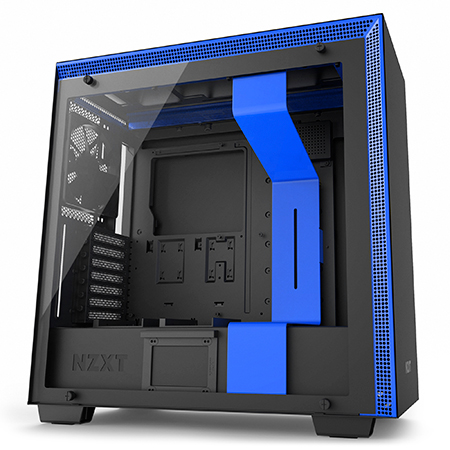 Gaming Chassis NZXT H700i Black  BLue RGB  Versus Gamers