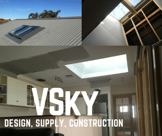 design, supply, construction of Velux Skylights in Adelaide