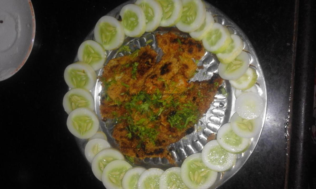 Crispy Bombil / Bombay Duck Fish Fry – Step by step recipe