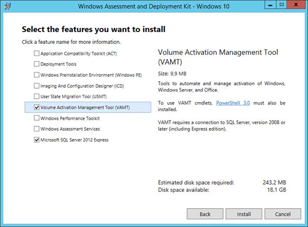 volume activation management tool (vamt) 3.1 download