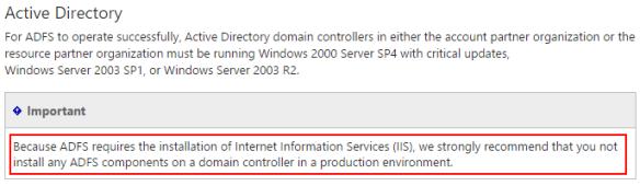 ADFS-Domain-controller