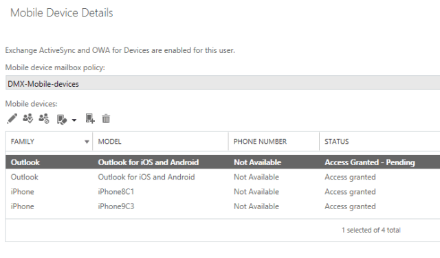 Solved] Access Denied, when adding a mobile device to Office 365