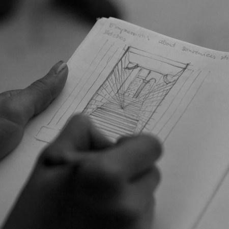 Nuša Švara - First sketches