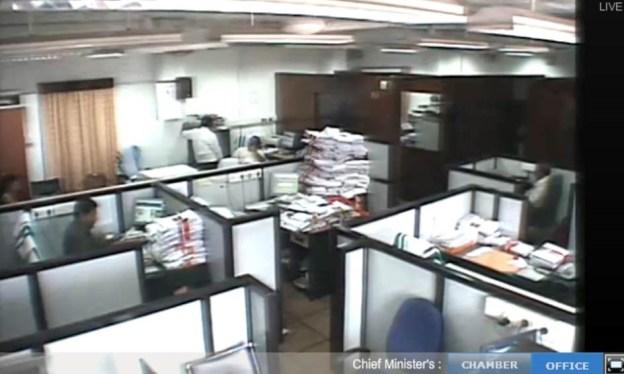 kerala cm office live