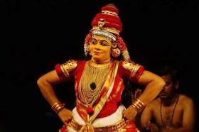 തിയേറ്റര് ഒളിമ്പിക്സിന്റെ ഭാഗമായി കലാമണ്ഡലം സിന്ധു അവതരിപ്പിച്ച കംസവധം നങ്ങ്യാര്കൂത്തില് നിന്ന്