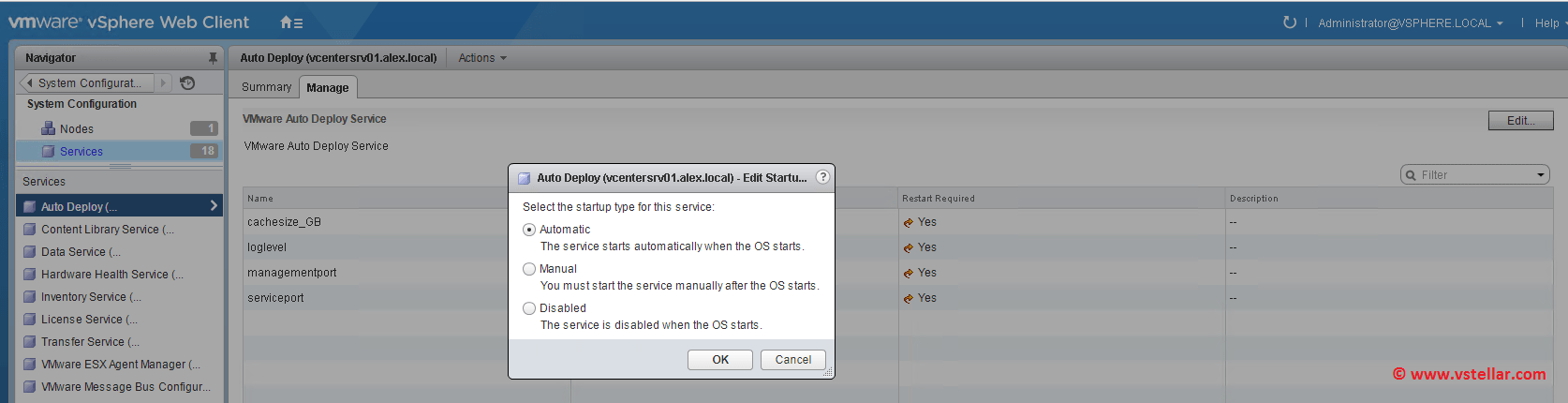 Auto Deploy Configuration in vSphere 6