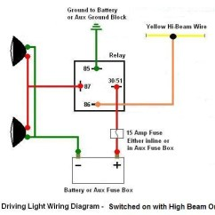 Hella Lights Wiring Diagram 1994 Chevy S10 Driving Light With Auto Hi-beam On - 101